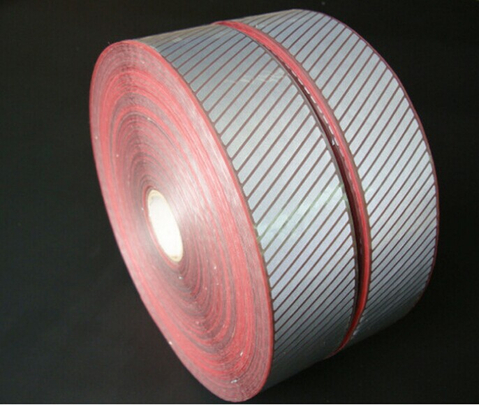 high light fluorescent green reflective webbing tape