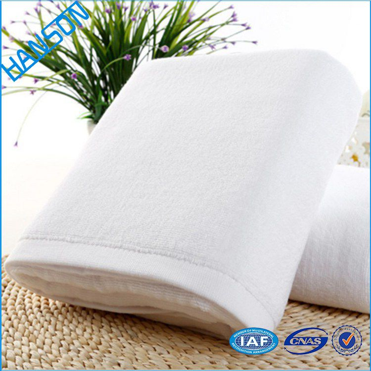 Factory Price 140 70 Fabric 100% Cotton Square Stripe Hand Towel