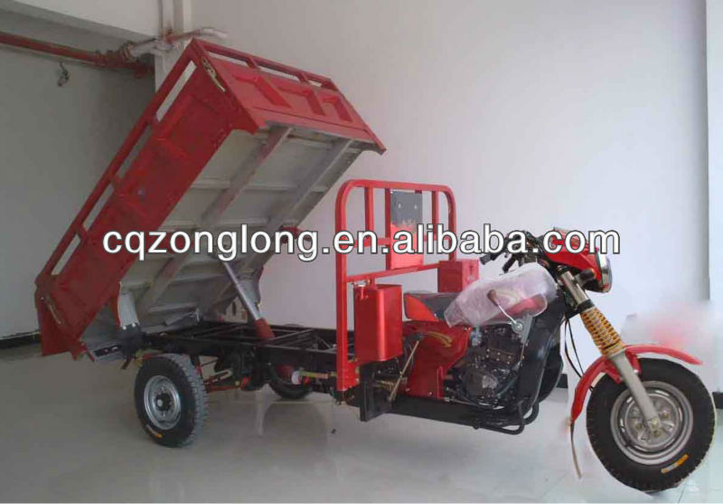 hydraullic lift cargo tricycle