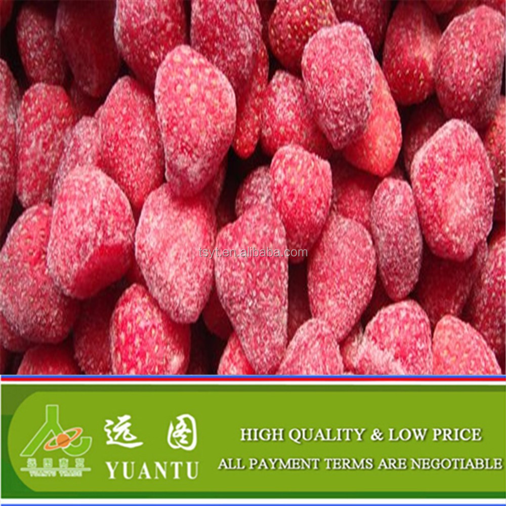 Sweet and Seedless Frozen Strawberry In Good Condition