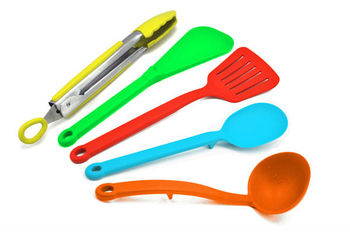 silicone kitchenware utensils set