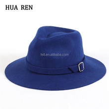 Winter wide brim custom made fedora hats