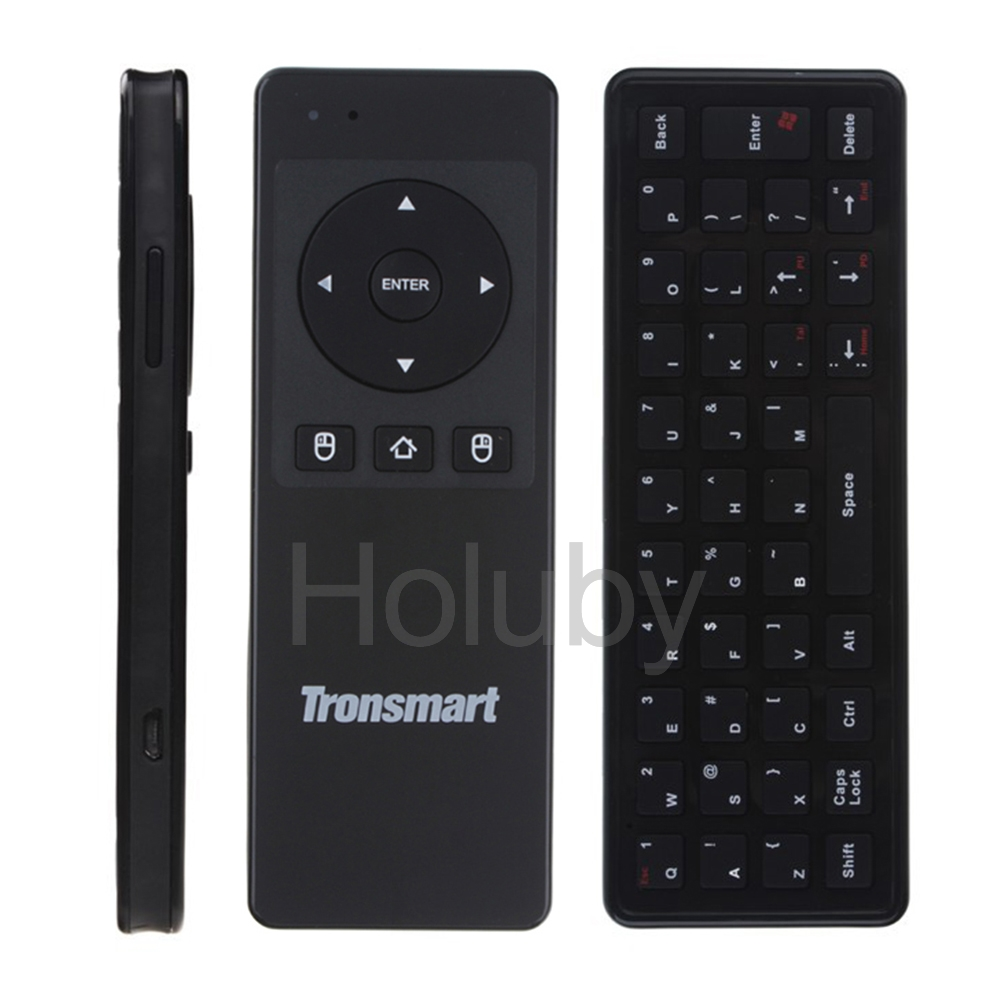 Unique 2016 alibaba express Tronsmart Air Mouse + wireless virtual laser USB Keyboard for TV Box / PC / Motion Sensing Games