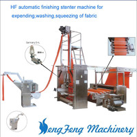 HF Automatic Textile Finishing senter Machine for expanding,washing,squeezing of fabric