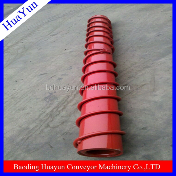 steel wire sprial conveyor roller used for cleaning belt in material Handing Equipment