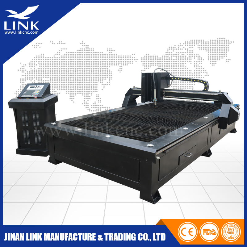China jinan professional manufacture low cost metal cnc plasma cutter / carbon steel cutting disc