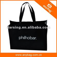 Wholesale polypropylene nonwoven tote bag with custom logo printed