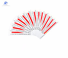 Factory Price Medical Steam & EO Form Plasma Sterilization Indicator Card/Label