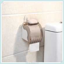 bathroom waterproof plastic round tissue roll holder wall mounted paper holder