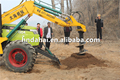 Truck drilling machine for plantation