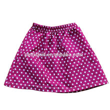Baby Girls Soft Cotton Dress Clothing Kids Polka Dot Design Skirt Girls Remake Boutique Clothes Wear