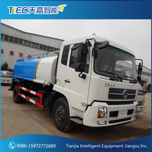 Dongfeng 10m3 carbon steel water vehicle