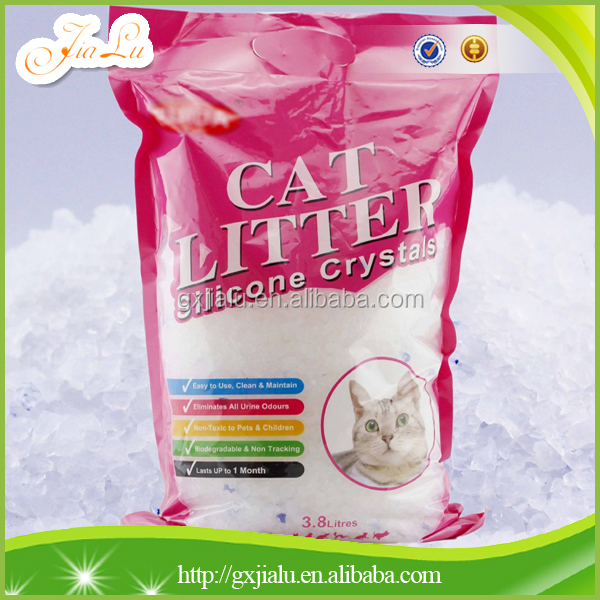 Highly absorbent silica gel cat litter