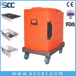 restaurant and kitchen equippment food warm and fresh container with FDA without element