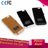 2016 hot selling 4200mAh mobile charger power bnak case For iphone 6 pluse Charger Cover