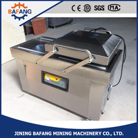 Double chamber vacuum packaging machine DZ(Q)500/2SB for fruit,vegetable