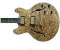 Fully handmade Birdseye Maple ES335 electric jazz guitar