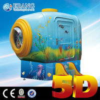 Lovely and attracitve 2-4 seats 5d mobile mini cinema