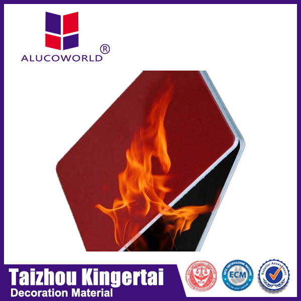 Alucoworld 3mm 4mm a2 acp sheet aluminum composite panel with different types