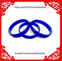 Blue Dozen Multi-Pack BLANK Wristbands Bracelets Silicone Rubber - Select from a Variety of Colors