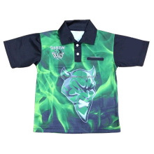 2016 Custom Sublimated New Polo Shirt With Pocket 100% Polyester