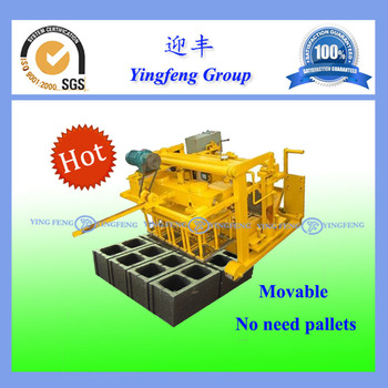 Hot sale ! Yingfeng QMY4-30 egg laying concrete block brick machine
