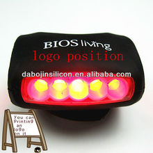 7 led bicycle light with string