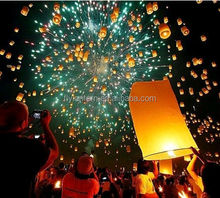 Chinese biodegradable luminary flying sky lanterns