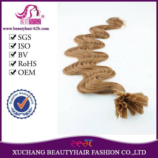 5A grade cheap Indian pre-bonded remy micro/flat/<strong>u</strong>/i/v tip hair extensions