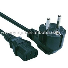 Schuko power cable
