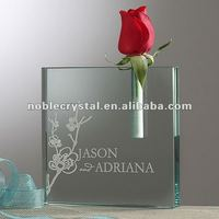 Bud Vase As Crystal Wedding Anniversary Valentines Gifts Souvenirs Favor