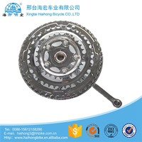 bicycle chainwheel alloy Bicycle freewheel crank