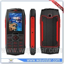 Car shape waterproof mobile phone IP68 support SOS push to talk
