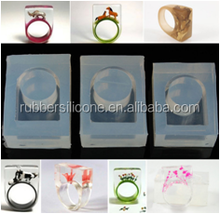 Clear platinum cured silicone rubber for making jewelry mold