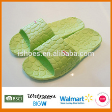 Top quality skidproof women bathroom plastic slippers wholesale