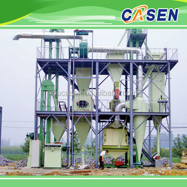 stainless steel fishmeal plant 5t/h animal feed making line