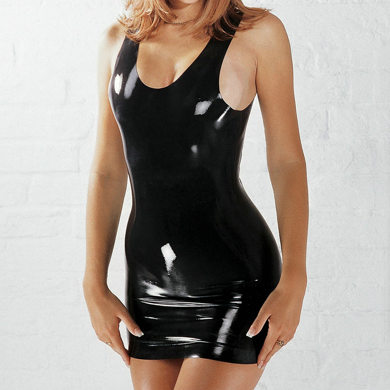 Sexy Latex Catsuit Women Clothing Wear