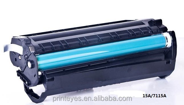 Laser Toner Cartridge Drum Black Print Test Page