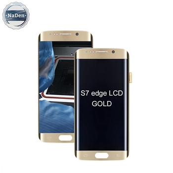 China Mobile Phone Lcd Manufacturer For Samsung Galaxy S7 Edge, Liquid Screen For S7 Edge Grade A+,For Samsung S7 Edge G935 Lcd