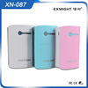 cell phone case charger. power bank with external battery for Iphone Samsung Huawei xiaomi HTC. power bank 6000mah