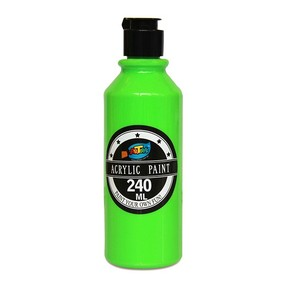 Satisfying service 240ML Green art acrylic paint colour epoxy acrylic paint