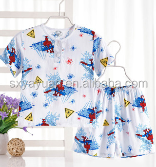 Wholesale Kids Goods Trendy T-shirts Pants Pajamas Girl Outfit Suit From China