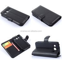 Slim Wallet Mobile Flip Cover For Samsung Galaxy Ace Style LTE G357