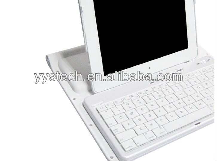Aluminium Bluetooth Keyboard with Case for Ipad