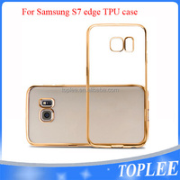 TPU Case Cover For samsung S7 edge case