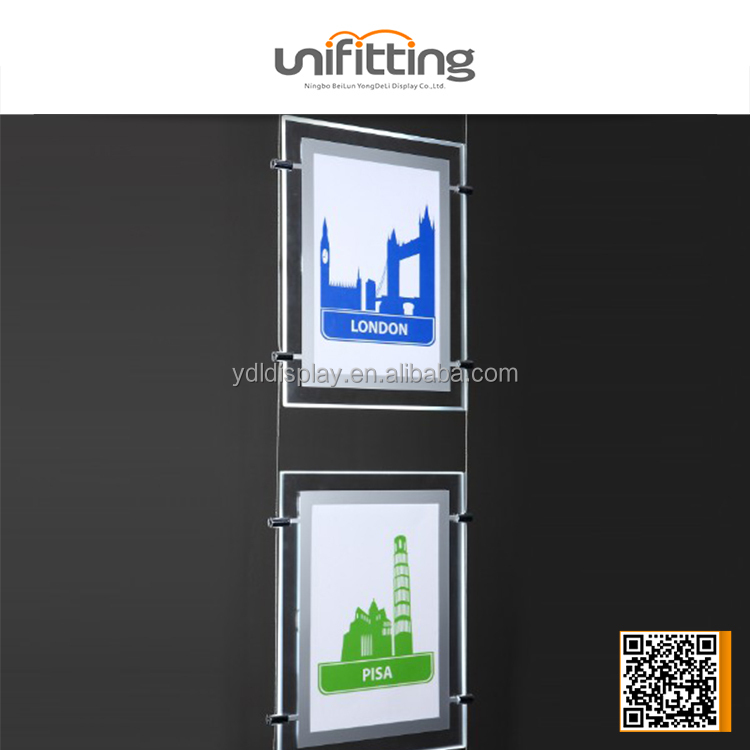 2014 new xxx images led display flash high quality acrylic light box advertising light boxes