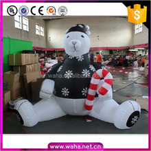 large inflatable christmas ornaments inflatable black snow bear for yard decor ideas