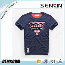 Wholesale summer men's high-quality t-shirts cheap price hemp clothing manufacturers