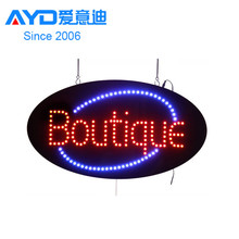 Shipping Free Boutique Signs LED Display Sign Distributor
