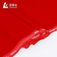 Different kinds of soft brushed pure red falcon velvet 9000 woven fabric